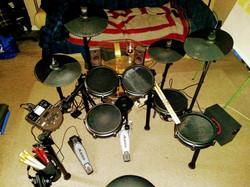 Black Beauty - My Alesis Nitro Mesh 10-Piece Electronic Drum Kit 2021
