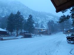 Snowy Morning in Buena Vista, CO