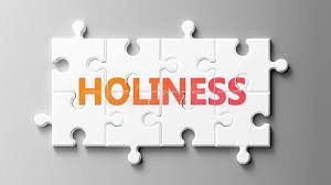 Some thoughts on holiness