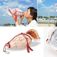 Trumpet shell Plastic bottle case