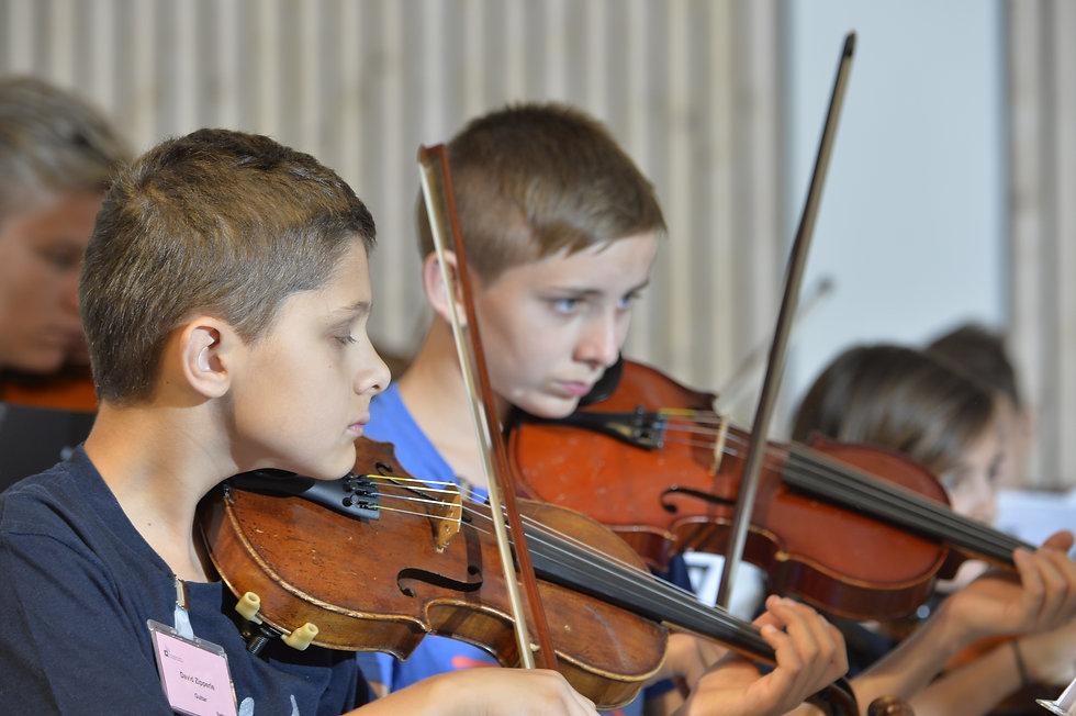 Orchesterspiel für Teenager