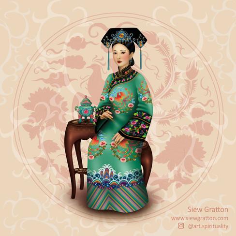 Green Dress Qing Lady.jpg