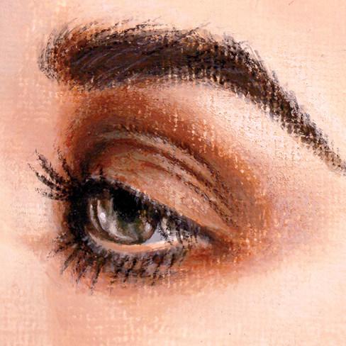Eye by Artist illustrator Siew Gratton A