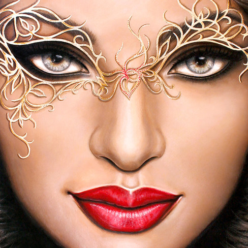 Face by Artist illustrator Siew Gratton