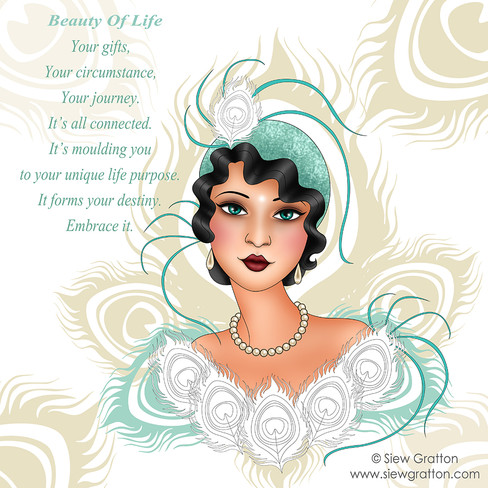 Beauty of Life by Siew Gratton artist il