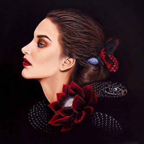 Rebirth by Artist illustrator Siew Gratt