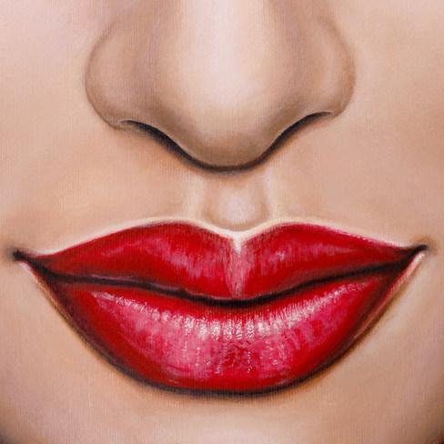 Lips 3 by Artist illustrator Siew Gratto