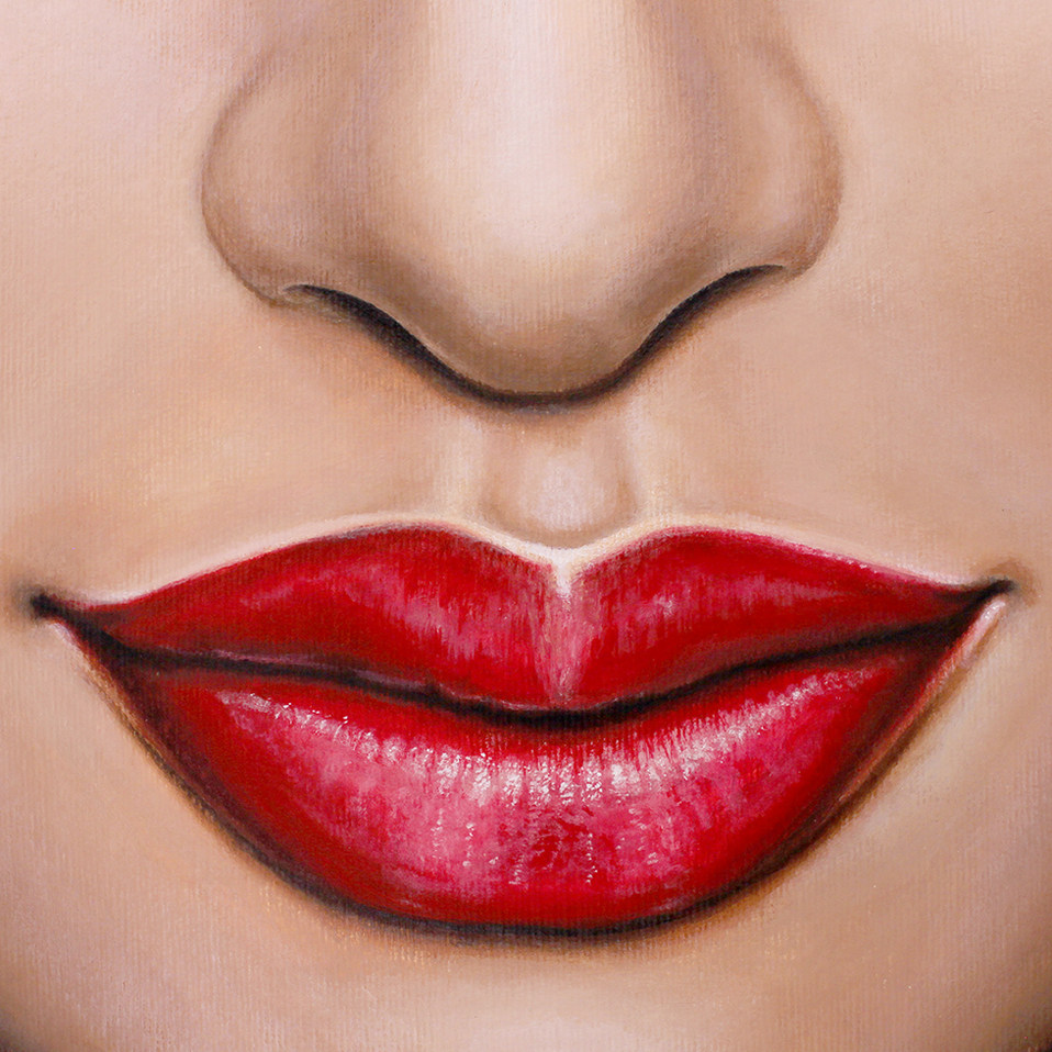 Lips 3 by Artist illustrator Siew Gratto