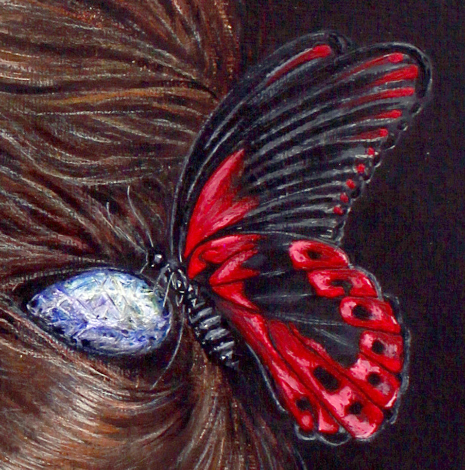 Butterfly by Artist illustrator Siew Gra