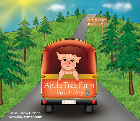 Artwork 29 -The Van To Apple Tree Farm.j