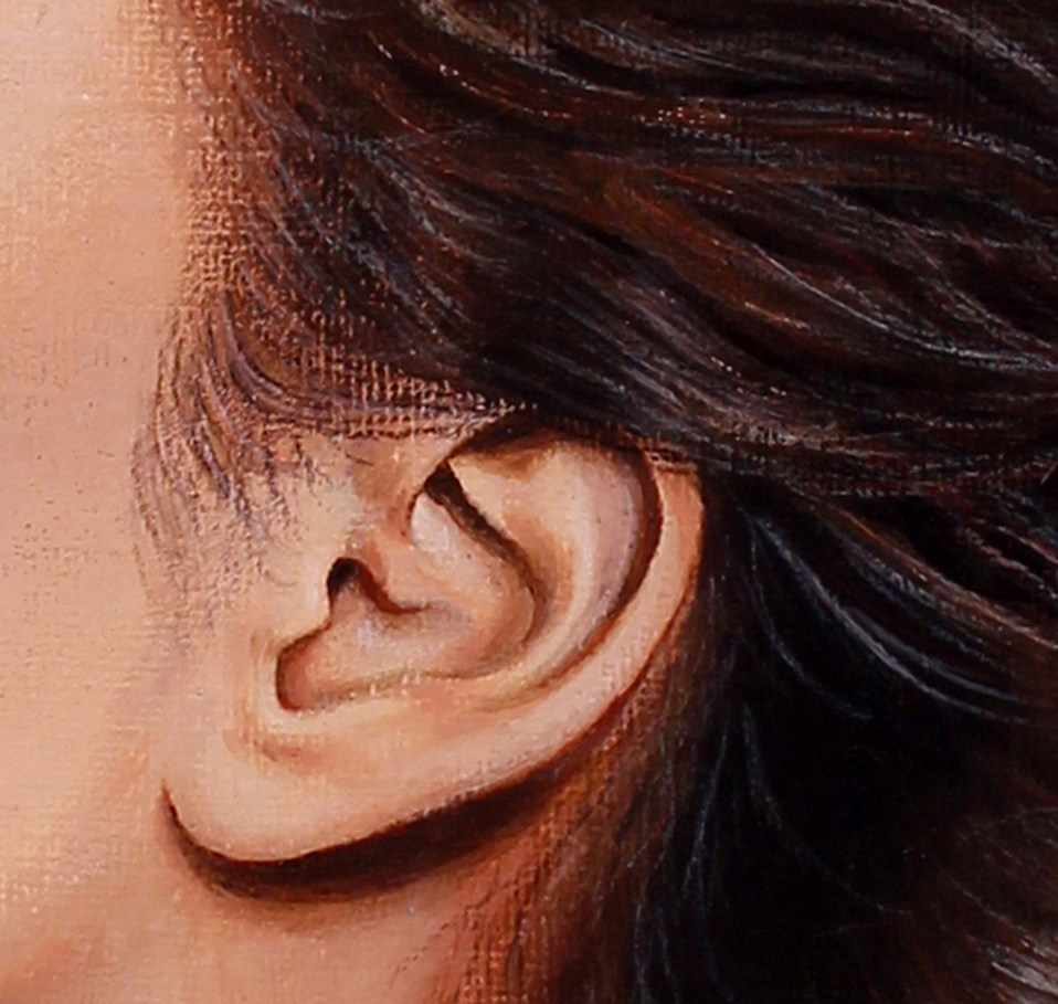 Ear by Artist illustrator Siew Gratton A