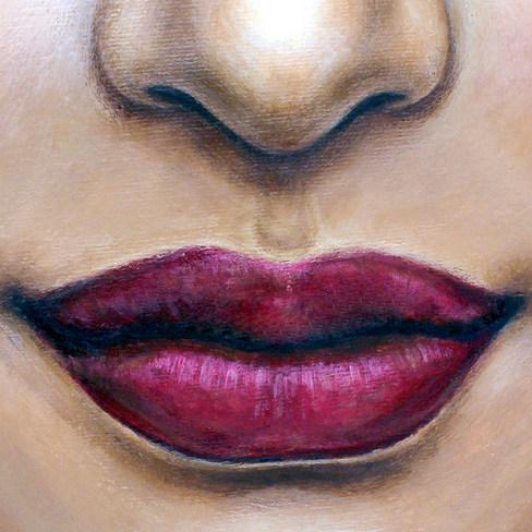 Lips 2 by Artist illustrator Siew Gratto