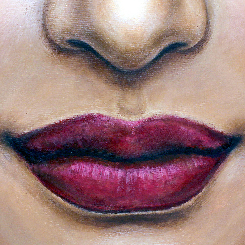 Lips 2 by Artist illustrator Siew Gratto