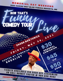 Comedy Event Flyer