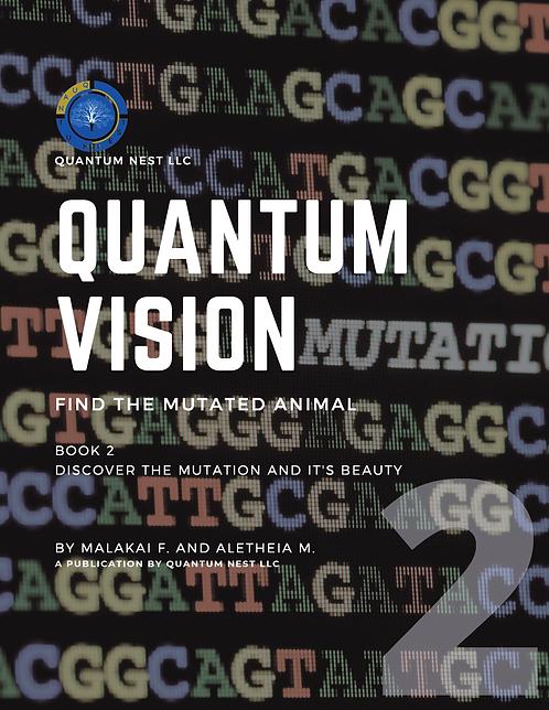 Quantum Vision: Find the Mutated Animal Book 1 (29 Fun Brain Games)