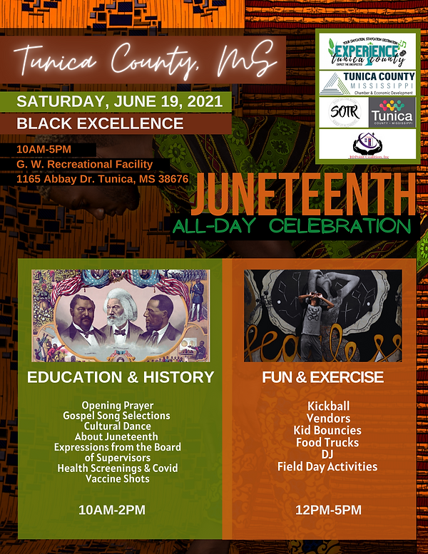 Tunica County Juneteenth Celebration.png