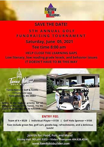 Family Biz Builder Golf Tournament 2021.