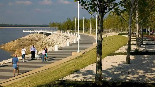 Riverfront Promenade