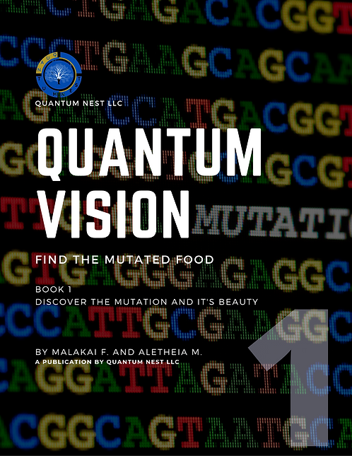 Quantum Vision: Find the Mutated Food Book 1 (29 Fun Brain Games)