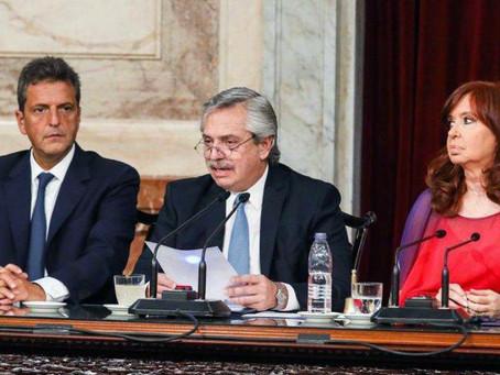 Discurso de apertura de sesiones ordinarias del Congreso de la Nación Argentina