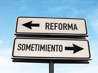 Reforma o sometimiento