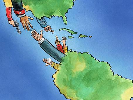Sudamérica en disputa