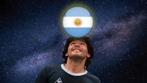 Maradona; Argentina y el Universo