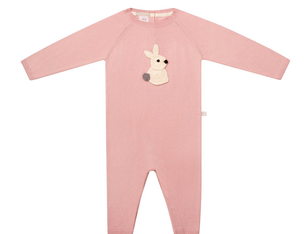 Hunny Bunny Pink Romper