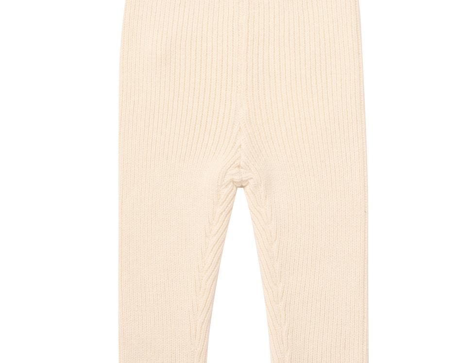 Marshmallow Ribbed Legging