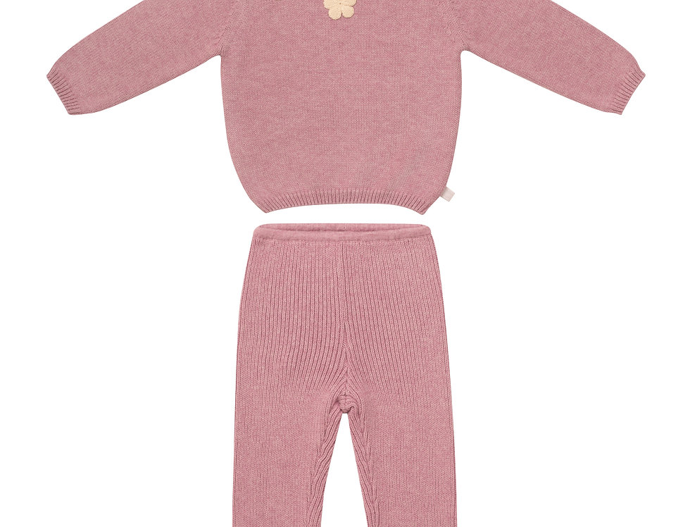 Pocket Full Of Posies Sweater Set