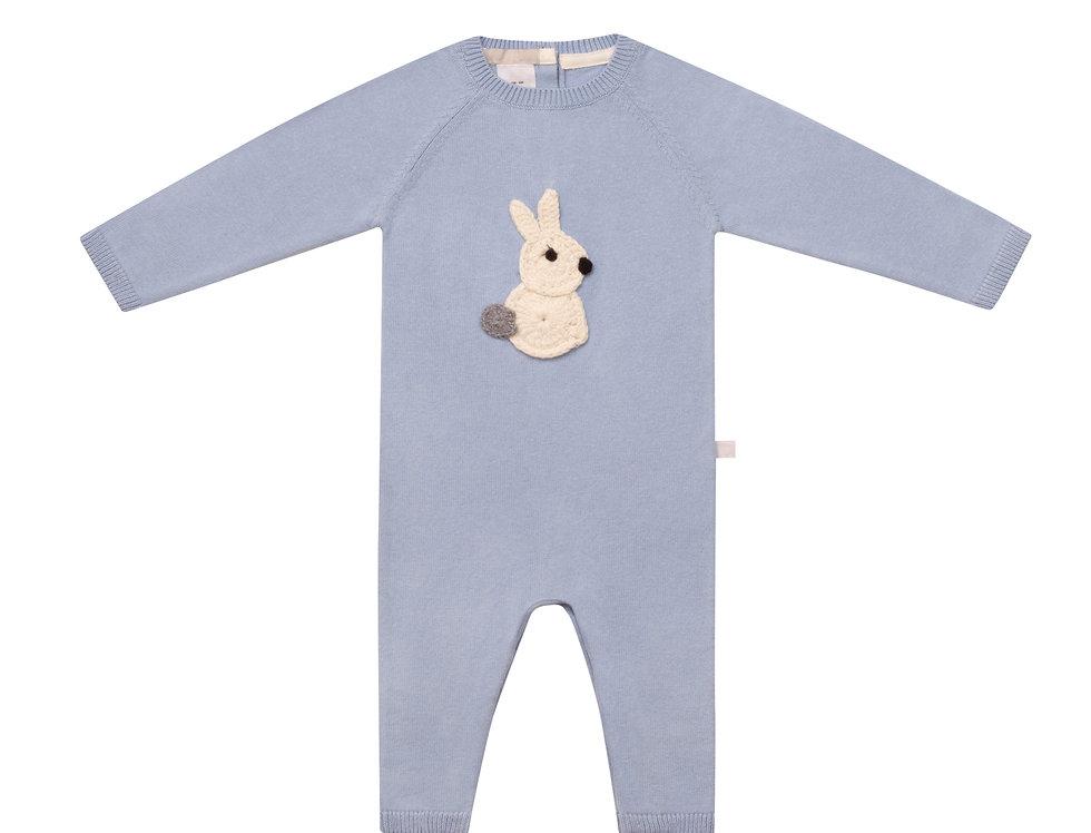 Hunny Bunny Blue Romper