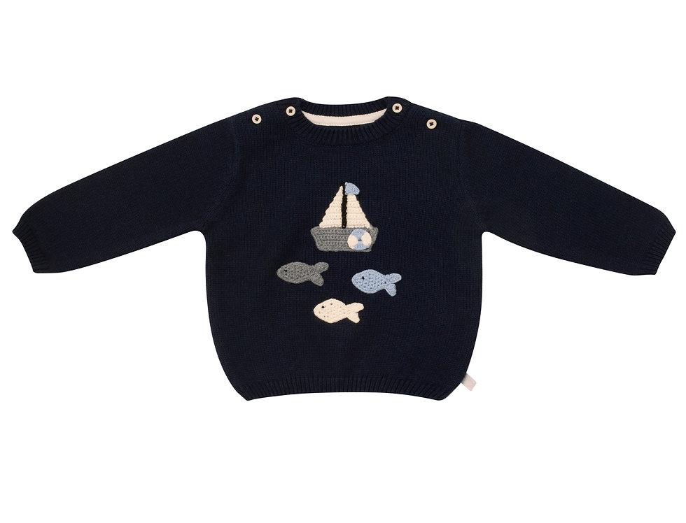 Row, Row, Row Your Boat Sweater