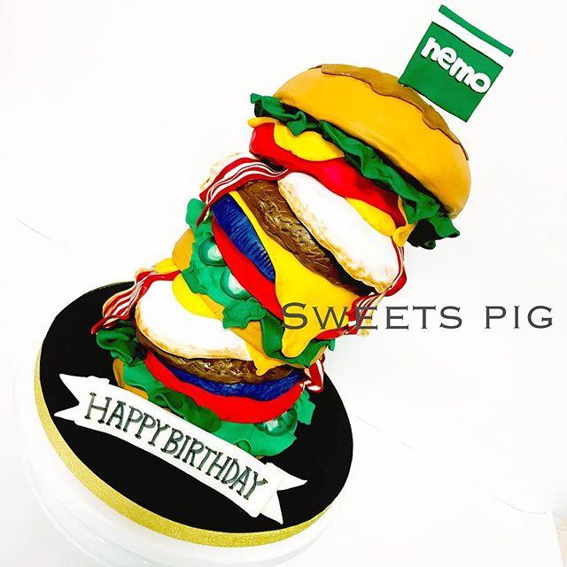 バーガータワーケーキ