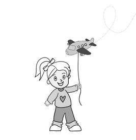 plane balloon