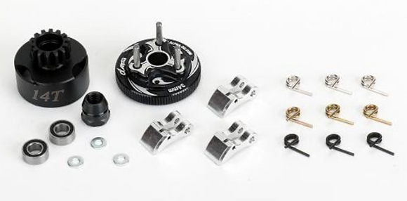 Complete 14T clutch Kit with vented bell