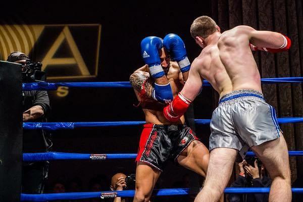 John Esposito fought Ramon Maldanado on Friday Night Fights in NYC. John