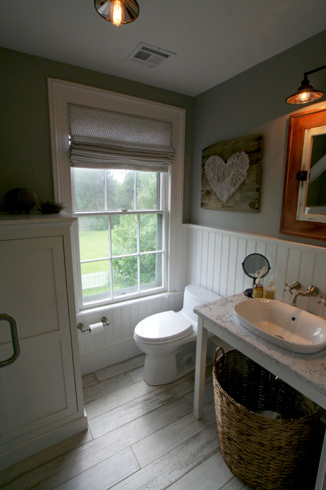 . Country Living s Makeover Takeover   Bathroom reveal as featured in