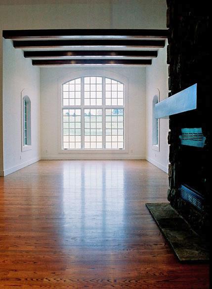Large Windows for Natural Light