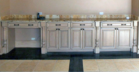 Gathering Room Cabinetry