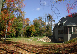 Custom Home Building, Backyard