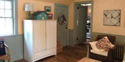 Before: Family room, Front Door