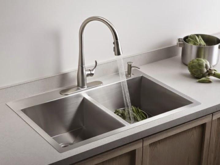 Self-Rimming Sinks, Image courtesy of Kohler