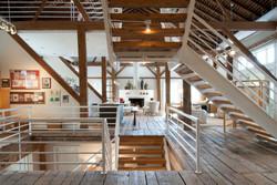 Ohio Barn - Main Staircase