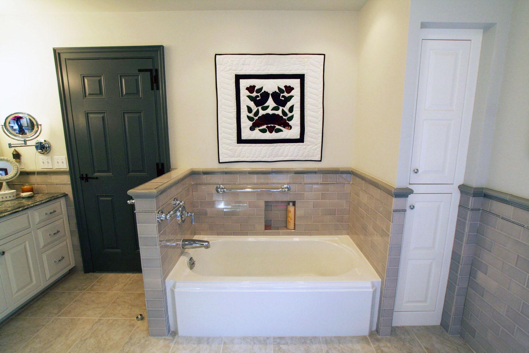 New Master Bath, Tub