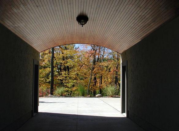 Cedar Ceiling Canopy