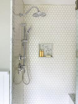After: Master Bath, Shower
