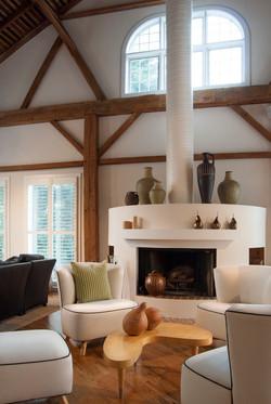 Ohio Barn - Living Room
