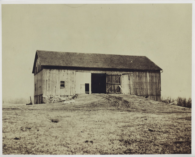 "Ohio Barn - ""Before""- Rear Elevation"