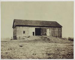 "Ohio Barn - ""Before""- Rear Elevation"
