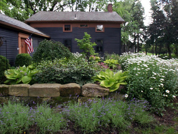 Beautiful Landscaping At Franklin & Associates Design-Build